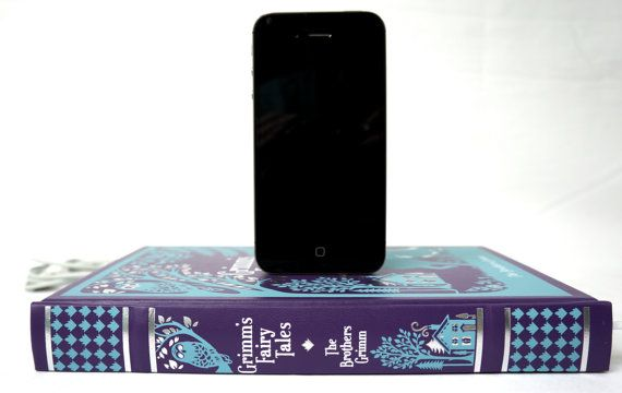Grimm's Fairy Tales booksi for iPhone and by RichNeeleyDesigns