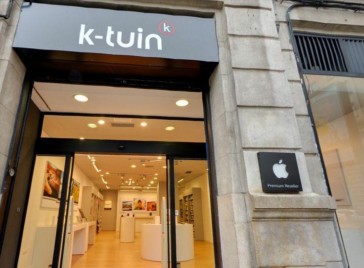 En #ACoruña, y situada en la calle Federico Tapia, en pleno centro de la ciudad, encontrarás la tienda #Apple #K-Tuin con el equipo más profesional y que más conoce todo lo relacionado con todos los productos #Apple.