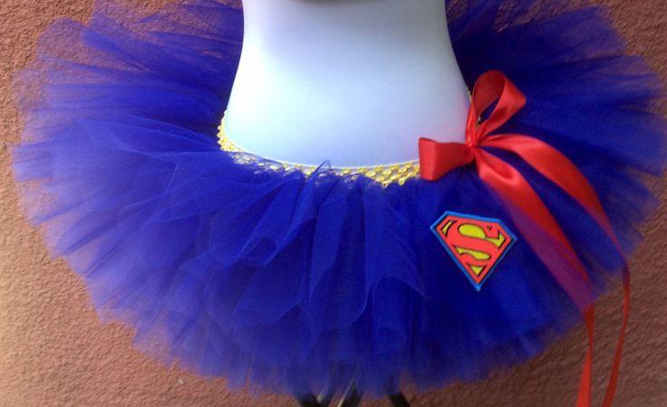 Superman Tutu, Superhero Running Tutu, Superwoman Costume, Adult Running Tutu by ShellyRioBoutique on Etsy