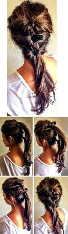 http://kelly-speca.kinja.com/ Diy ideas: DIY Hairstyle