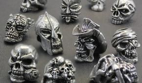 Schmuckatelli Co. skull beads, tiki beads, paracord accessories & jewelry are high quality, finely detailed and made with best materials. Proudly made in the USA.