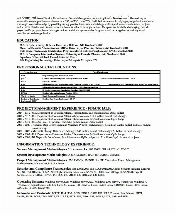 Entry Level Security Analyst Resume Fresh Information Security Analyst Resume Printable Planner Te In 2020 Security Resume Job Resume Samples Architect Resume Sample