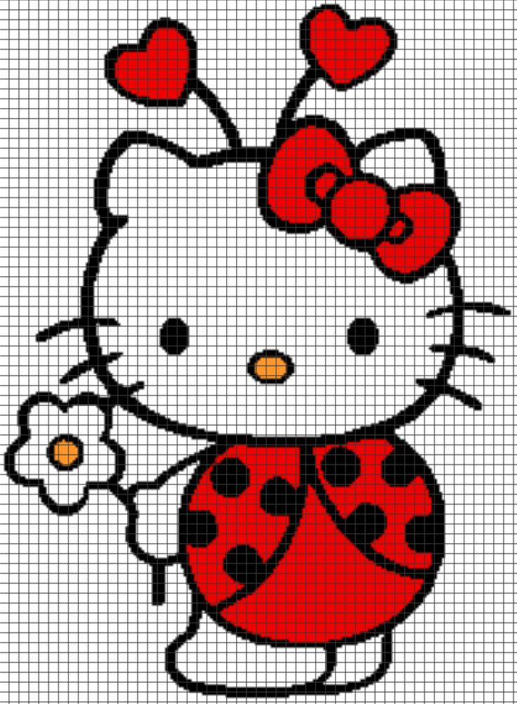 Skill level: Easy Requires 4 colors. This pattern is 196 x 267 stitches, and comes with the written row-by-row instructions as well as the graph/chart. There are also tips included to help you with…