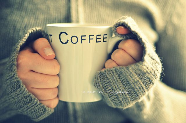 cold morning, hot coffee ❥Teresa Restegui http://www.pinterest.com/teretegui/❥
