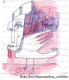 illustration drawing  sketch design handmade scribble art Fatime Molnar