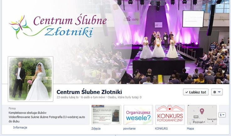 Cover photo centrum ślubnego Złotniki