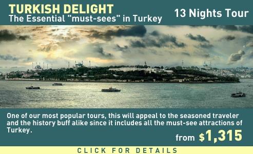 Turkish Delight 13 Nights Tour in Turkey
