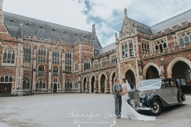 A sublimely pretty English wedding at Clifton College in Bristol, with Jennifer Jane Photography (23)