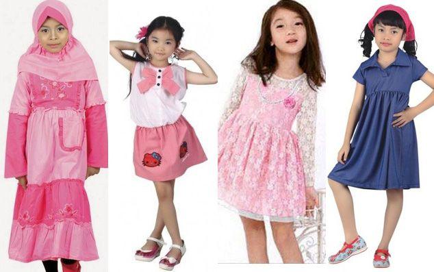 Model terbaru baju anak perempuan