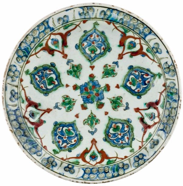 İznik Plate 16th c  Turkey