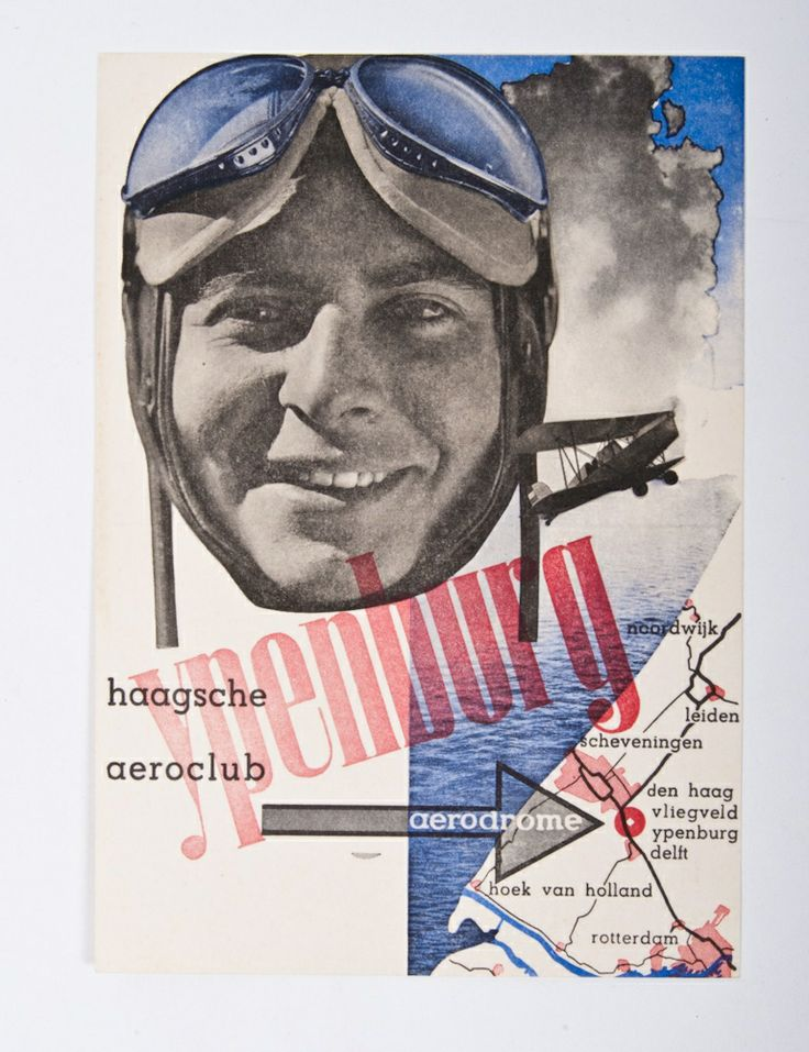 Piet Zwart - Ypenburg, Haagsche Aeroclub (Flying Club of the Hague), 1934