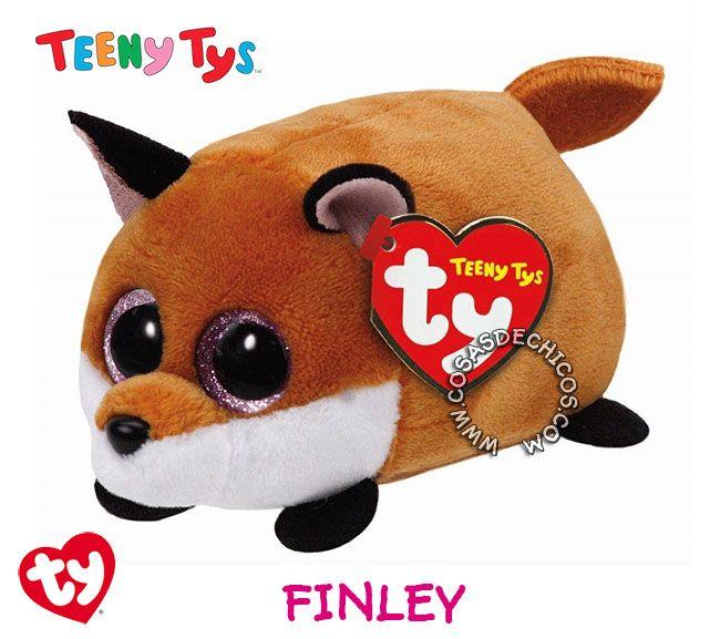 #Nuevos #Peluches #TeenyTys #Originales #TY  #Importados.  Irresistibles y adorables peluches Teeny Tys. Super suavecitos. Con enormes ojos brillantes. Medida: 9 cm. Coleccionalos!  Importador oficial: #Wabro.  #CosasDeChicos #Finley #Zorro #Fox #Teeny #Tys