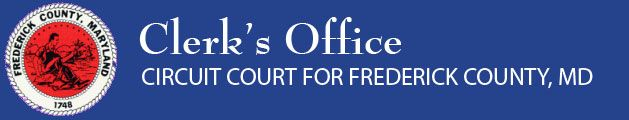 Information about Wedding lIcence - Clerk's Office - Circuit Court for Frederick County, MD and County Seal