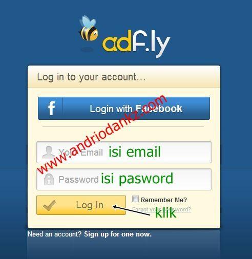 Cara Mudah Mendaftar dan Menghasilkan Uang di adfly
