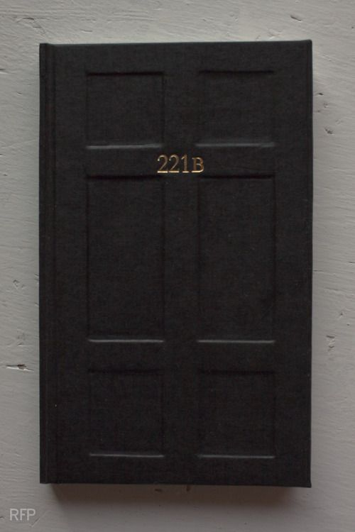 Instead of a book, I am going to do this to our interior doors. 221B - Narnia - Police Box - 9 3/4 - Harry's Closet.