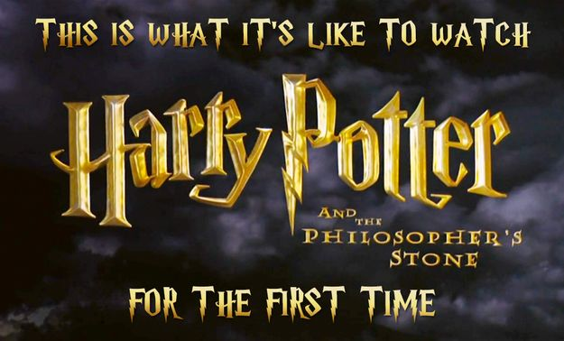 """I think I almost peed on myself ----This Is What It's Like To Watch """"Harry Potter"""" For The First Time"""