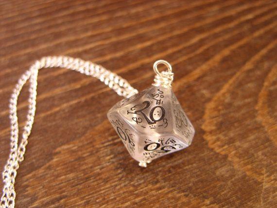 elf dice pendant elvish D100 dice rgp larp by MageStudio on Etsy, $20.00 #dice #D100 #geek #geekery #tabletop #game #gamer #dungeonsanddragons