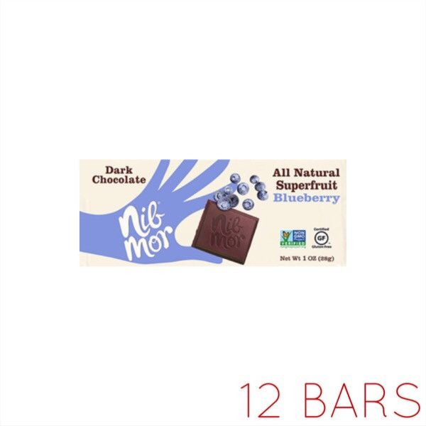 All Natural Superfruit: Blueberry Dark Chocolate (1oz)
