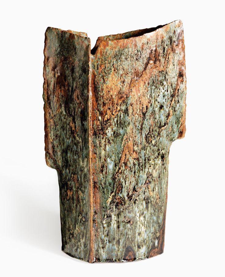 Erik Pløen; Glazed Ceramic Vase, c1970.