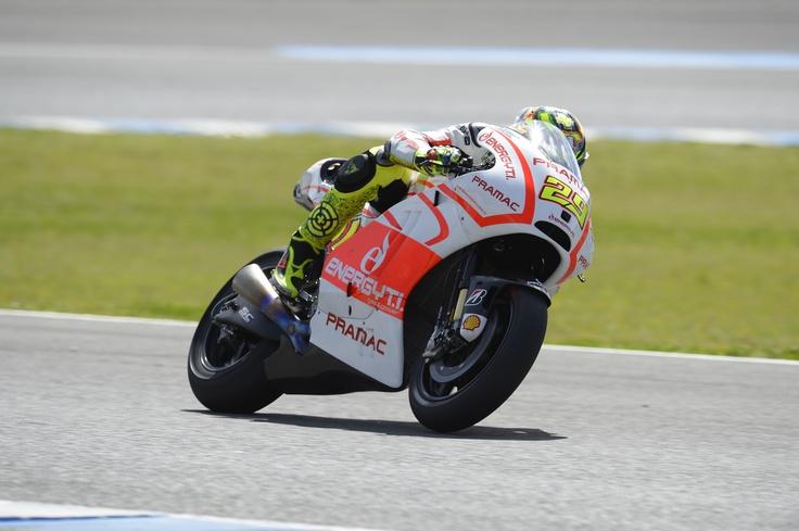 Andrea Iannone hits his stride on the Pramac Ducati GP13