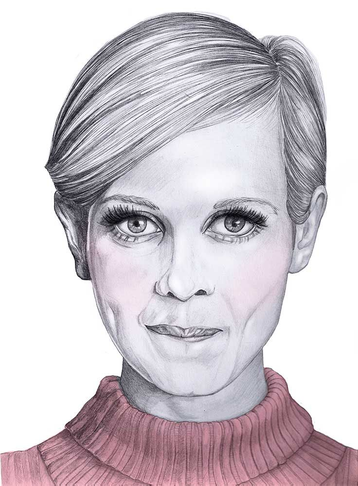 """When illustrating, is there such a thing as """"favourite part of body?"""" Just for illustration purposes, of course. Check it out at http://www.owlillustration.com/with-mia-valgren-about-portrait-illustration-and-inspiration/"""