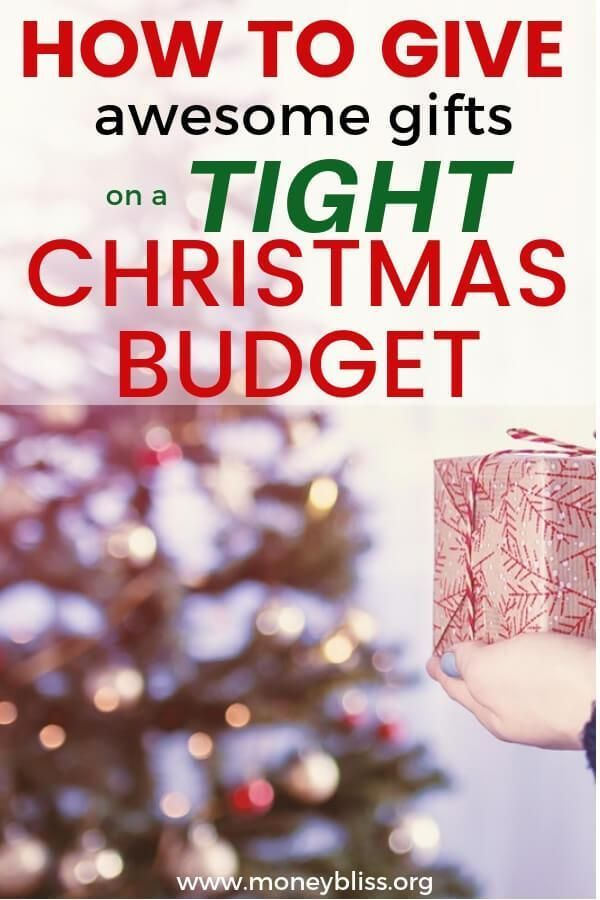 Awesome Gift Ideas When You Re Broke Christmas On A Budget Christmas Money