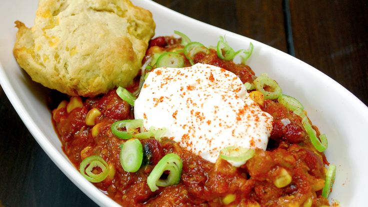 Chili and Cheddar Biscuits