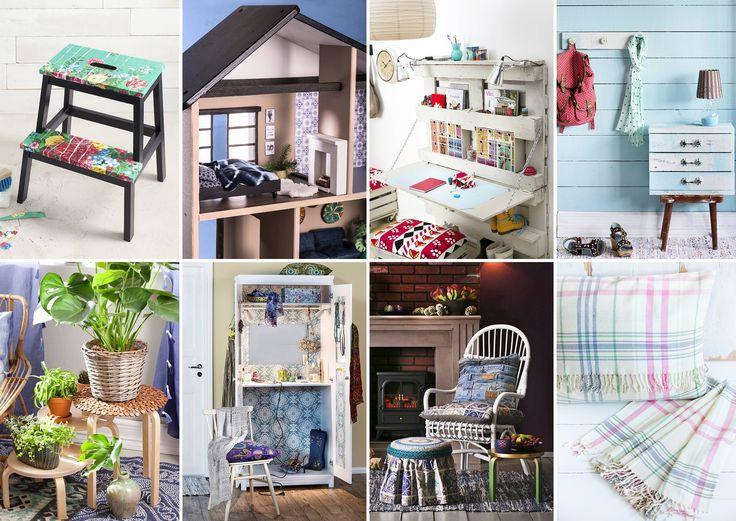 Meillä kotonan inspiroivat Ikea-tuunaukset / Ikea furniture hacks / DIY projects using Ikea products / Unelmien Talo&Koti