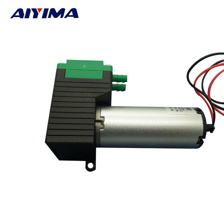 12V Small Vacuum Pump / High Vacuum Low Noise / Negative Pressure Air Exhaust Suction Pump / Diaphragm Pump 10W #Affiliate