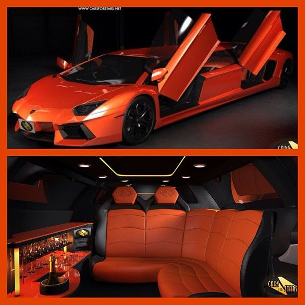 What do you think of this amazing Lamborghini Aventador-limo?