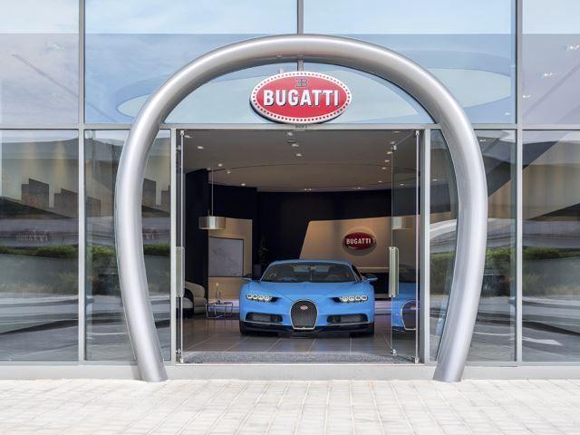 Bugatti Largerst Showroom, Dubai