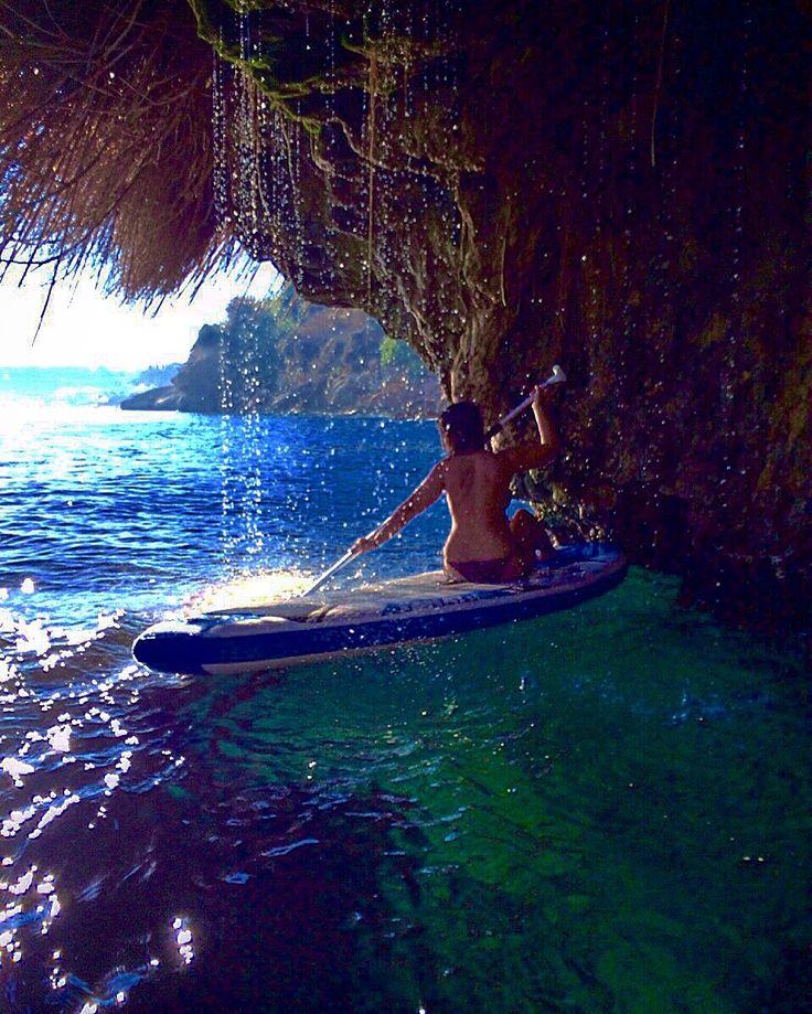 Paddle surf un burriana ( nerja, Málaga)  #nerja #malaga #beach