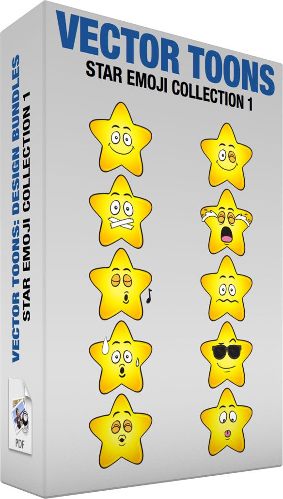 Star Emoji Collection 1 #brilliant #crying #emoji #emoticon #emotions #faces #happy #heavenlybody #mouthshut #nervous #sad #scared #shining #smileys #smiling #space #star #sunglasses #sweating #tapedshut #tears #tongueout #upset #whistling #winking #worried #yellow #vector #clipart #stock