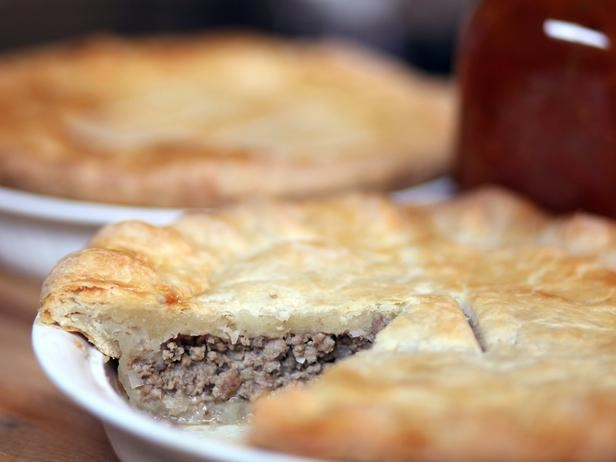 Tourtiere (aka Meat Pie). Thank you Chuck!!! This makes a really good ...