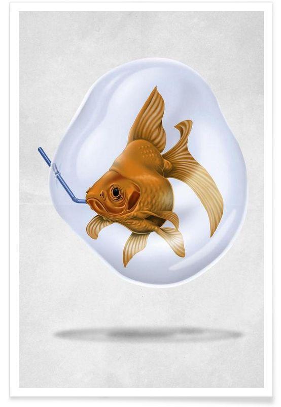 A breath of fresh air - Rob Snow | Creative - Premium Poster art | decor | wall art | inspiration | animal | home decor | ideas | gift