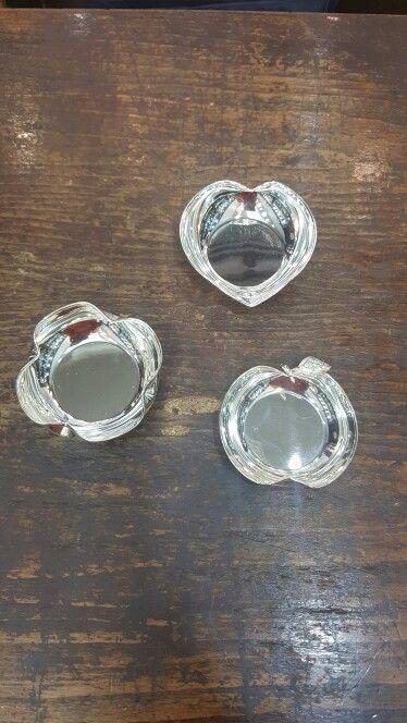 Kalp, elma ve yonca şekilli bonbonier/ şekerlik modellerimiz  #gumuskaplama #gümüşkaplama #sekerlik #şekerlik #bonboniere #nikah #susleme #süsleme #organizasyon #dugun #düğün #wedding #nişan #bebekmevlüdü #babyshower #özelgün #davet #tören