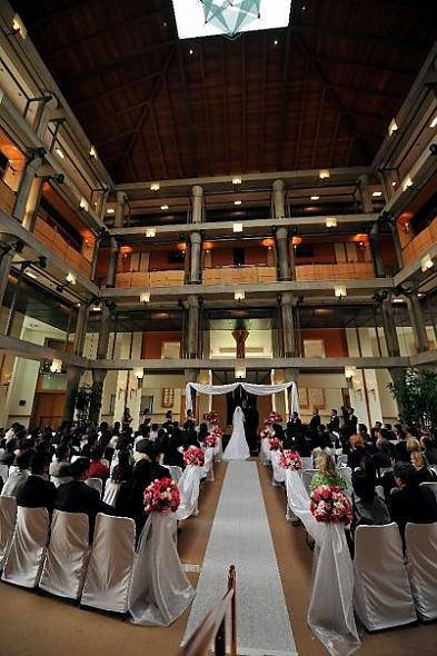 Cerritos Grand Lobby Wedding Ceremony In 2018 Pinterest And Real Weddings
