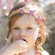 Shooting+star+toddler+headband+rose+and+gold+by+GeminiiRushDesigns