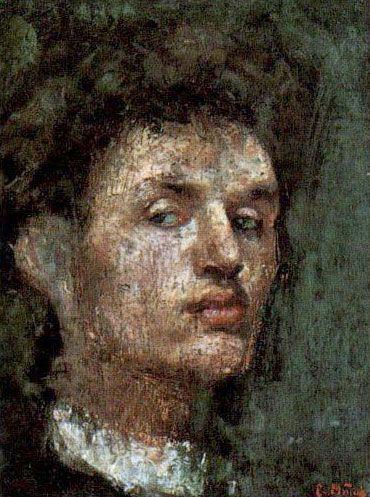 Эдвард Мунк «Автопортрет II»