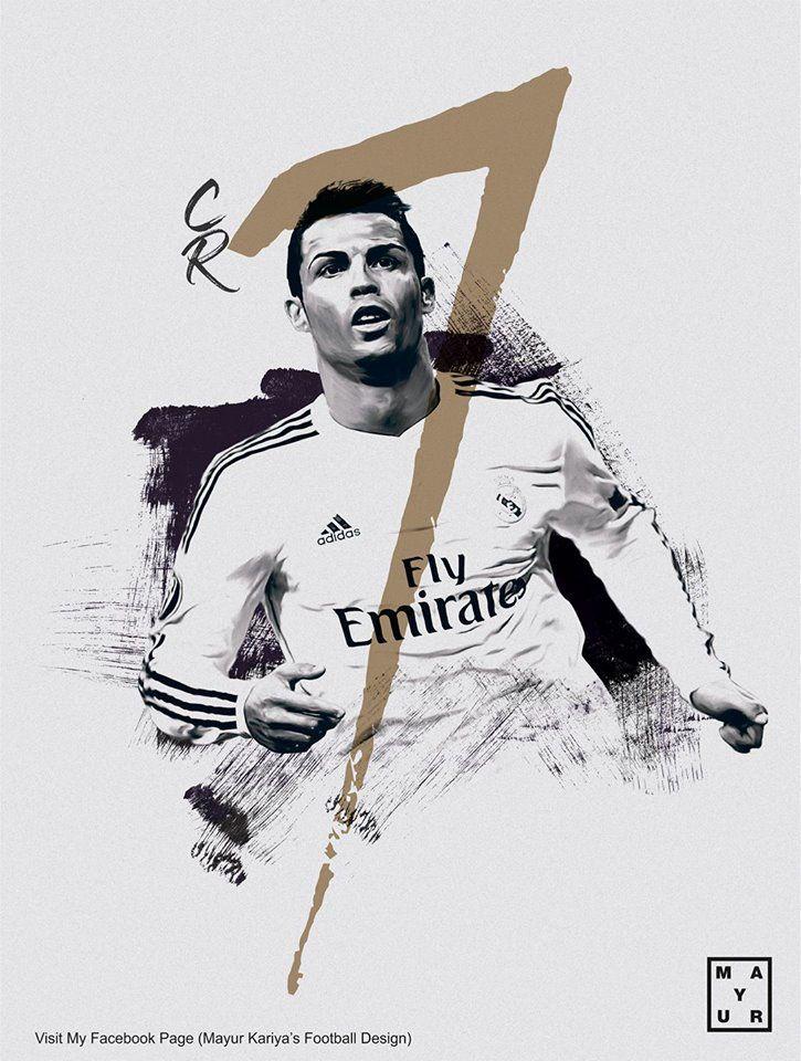 cr7 poster design on Behance
