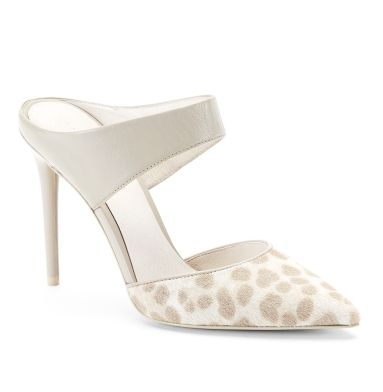 Wendy Calf-Hair Open-Back Pump - Heels - Kenneth Cole