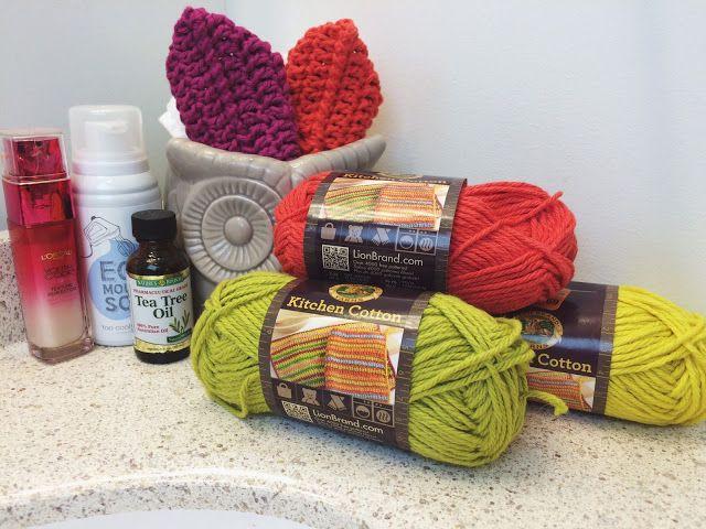 five sixteenths blog: Make it Monday // Crochet Face Scrubbie