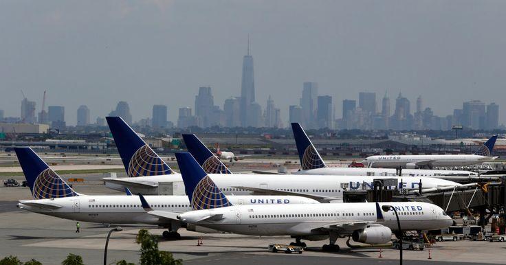 United Airlines, Plane, Terminl C, Newark Airport, EWR airport, Car Service to NJ,