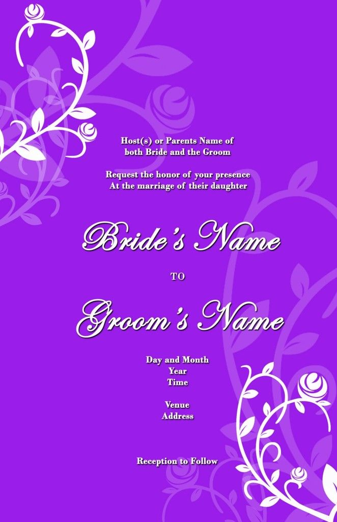26 Best Weddin Invitation Card Images On Pinterest | Wedding