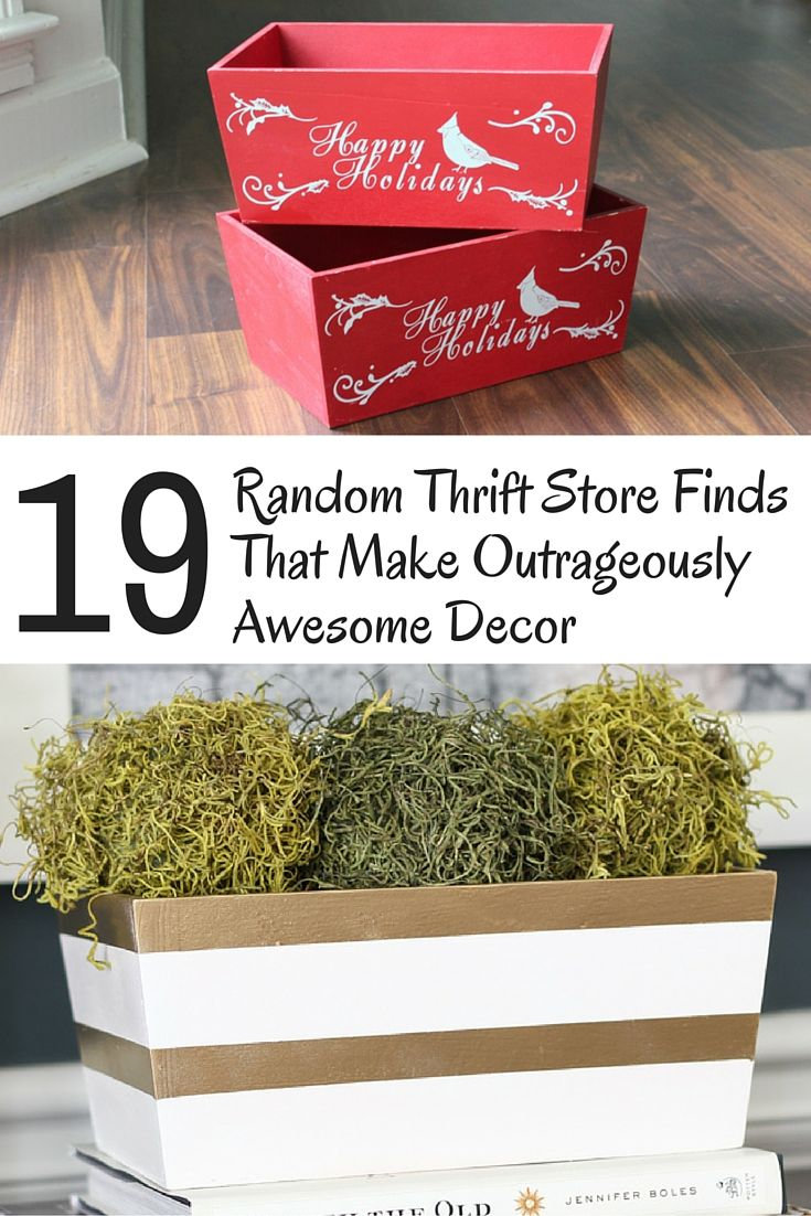 250 Best DIY Thrift Store Projects Images On Pinterest