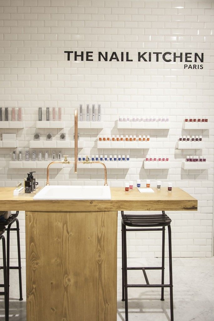 bhv reveals revamped beauty floor - Nail Salon Design Ideas