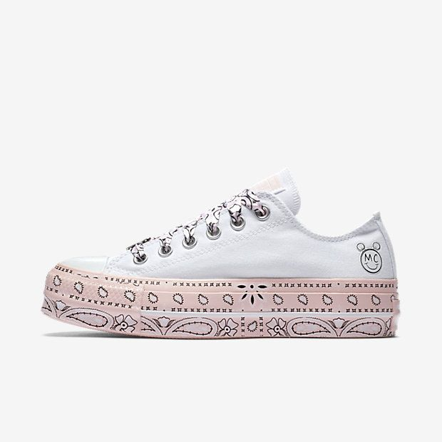 1808d3b6860 Converse x Miley Cyrus Chuck Taylor All Star Lift Low Top Women s Shoe