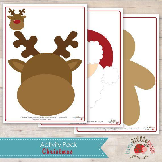 Busy-Little-Bugs-Christmas-Activity-pack-playdough-mats.jpg 570×570 pixels