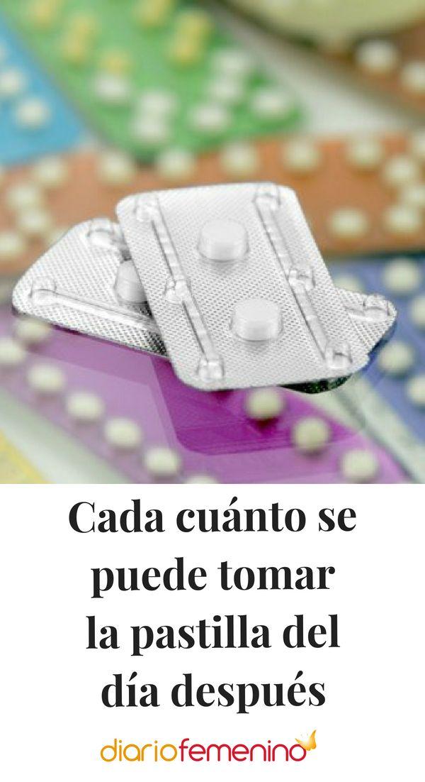 Cada cuanto se puede tomar pastilla del dia despues