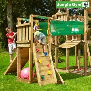 Bridge Module - A large extension to your play centre, combining climbing, balance and pulling stimulation in a single package.